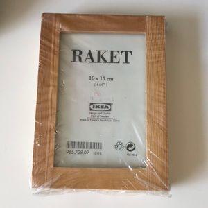 🖼 IKEA Raket wooden photo frames